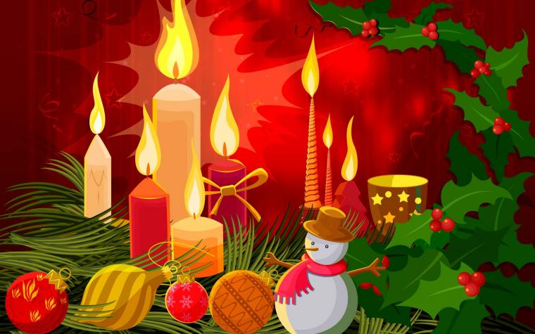 Christmas candle hd wallpaper   Choice Wallpaper Choice