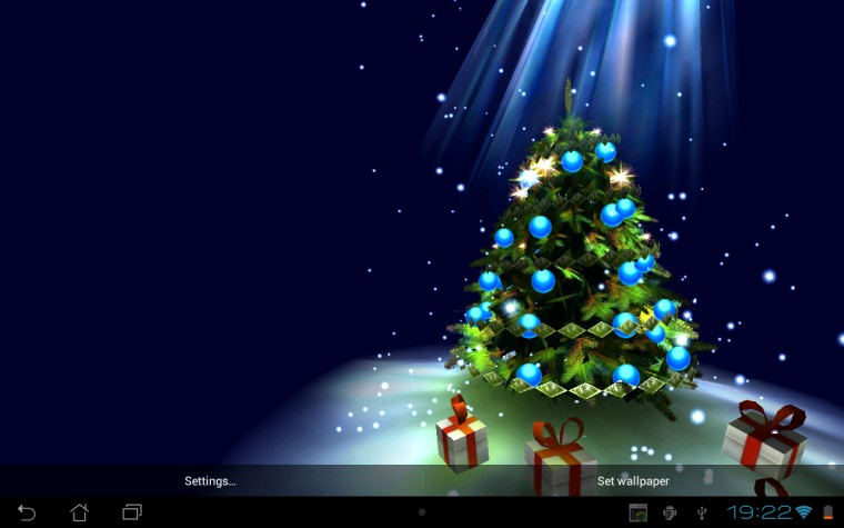 3d Christmas Tree Hd Wallpaper Christmas Tree 3D   Android App