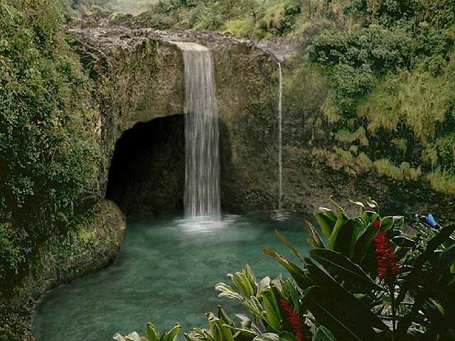 Living waterfalls screensaver