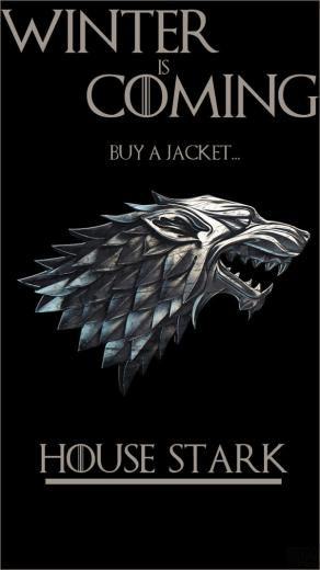 house stark game of thrones iphone wallpaper by sttvuk d7qihf8jpg