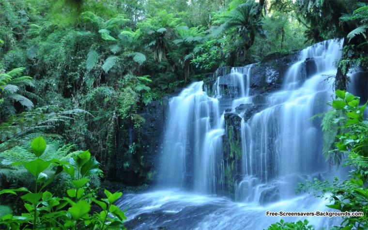 Waterfall Wallpapers Feb 2 2011   Screensavers and Backgrounds