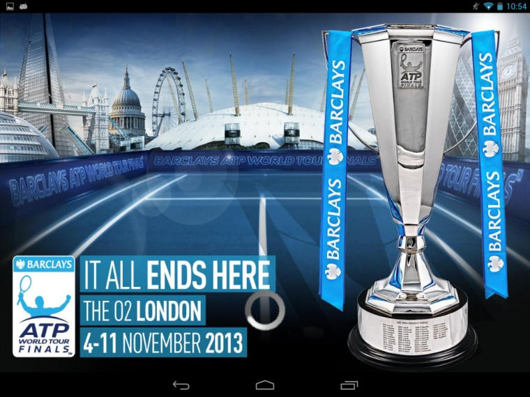 Barclays ATP World Tour Finals   Android Apps on Google Play