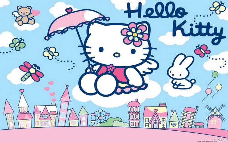 Hello Kitty PC Wallpapers   Top Hello Kitty PC Backgrounds