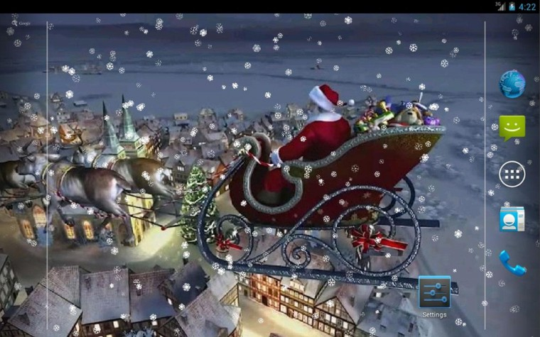 Download 3D Christmas 1 live wallpaper for android 3D Christmas 1