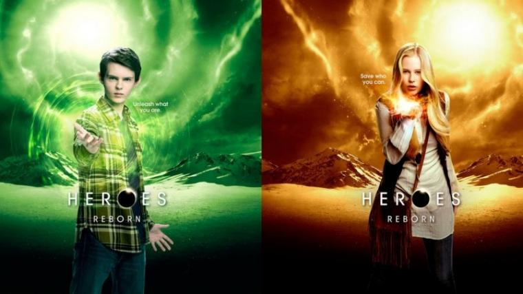 Heroes Reborn Tommy Clarke and Malina HD Wallpaper   WallpaperFX