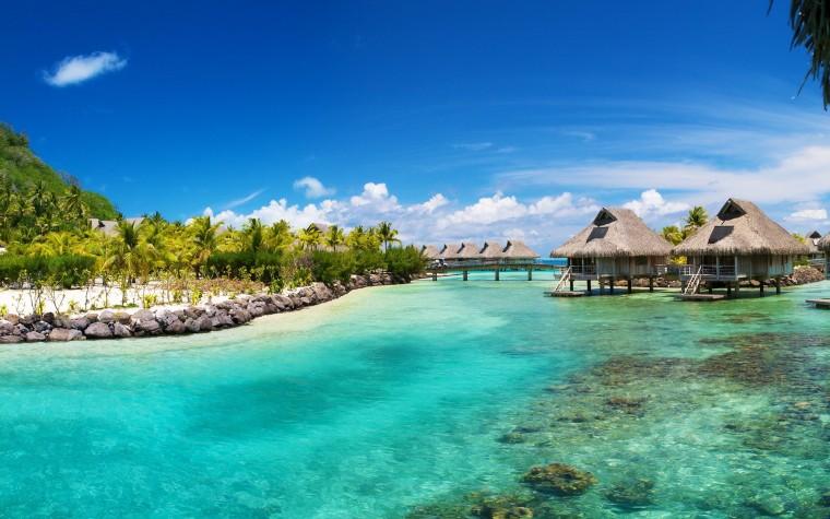 Hilton Bora Bora Wallpapers