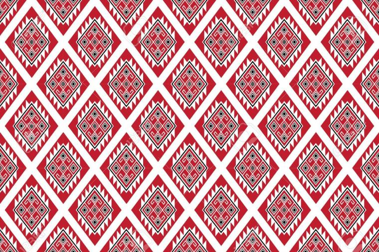 Geometric Ethnic Pattern Traditional Design For Backgroundcarpet