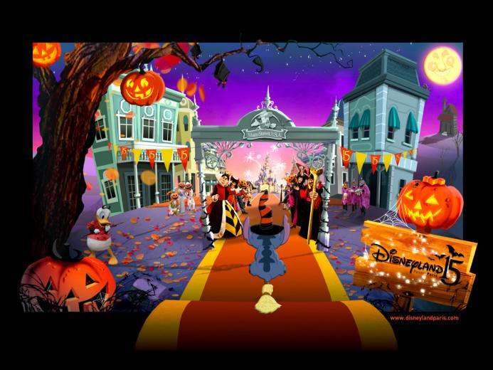Halloween 2012 wallpaper for Disneys fan Wallpaper for holiday