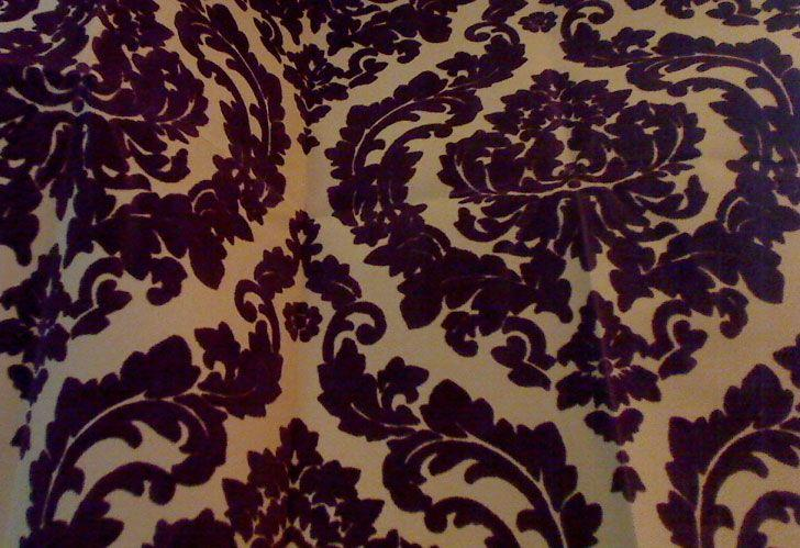 wallcoverings wallpapers walls flock velvet wallpaper burgundy flock