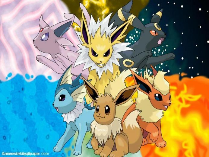 Eevee evolution 1   Eevee Evolutions Clan Wallpaper 9584947