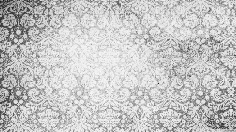 Black And White Vintage Pattern wallpaper