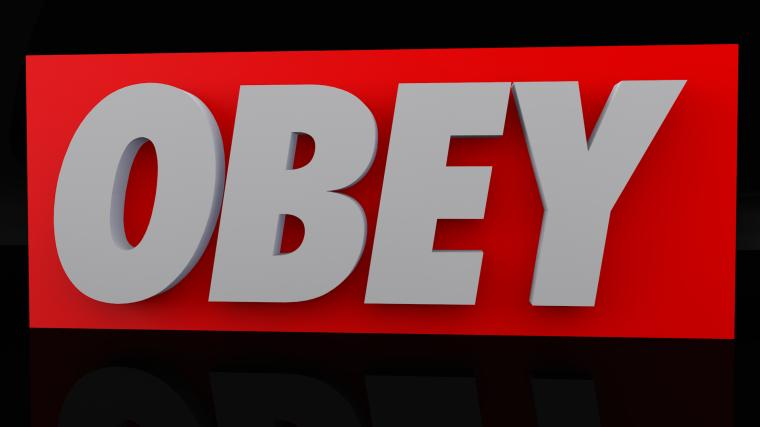 Obey Logo Hd Images amp Pictures   Becuo
