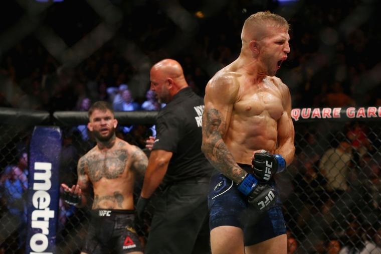 TJ Dillashaw claims hes going to ruin Cody Garbrandts career