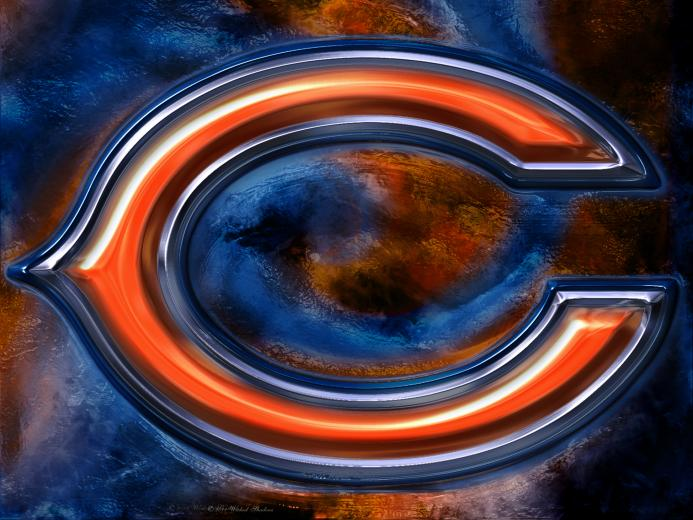 Chicago Bears 3D Logo Wallpaper Download Wallpaper