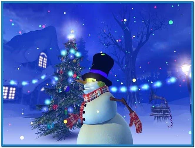 Christmas Rink Screensaver