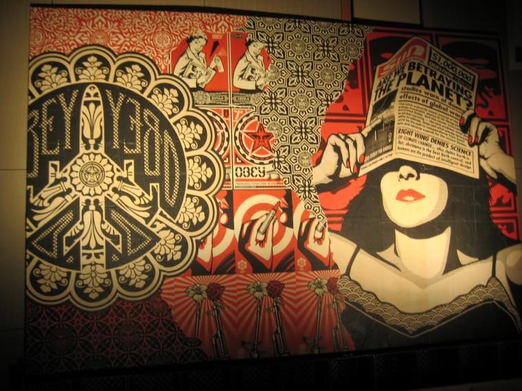 Obey Art Wallpaper Obey art wallp