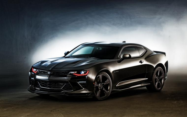 2016 Chevrolet Camaro Black Wallpaper HD Car Wallpapers