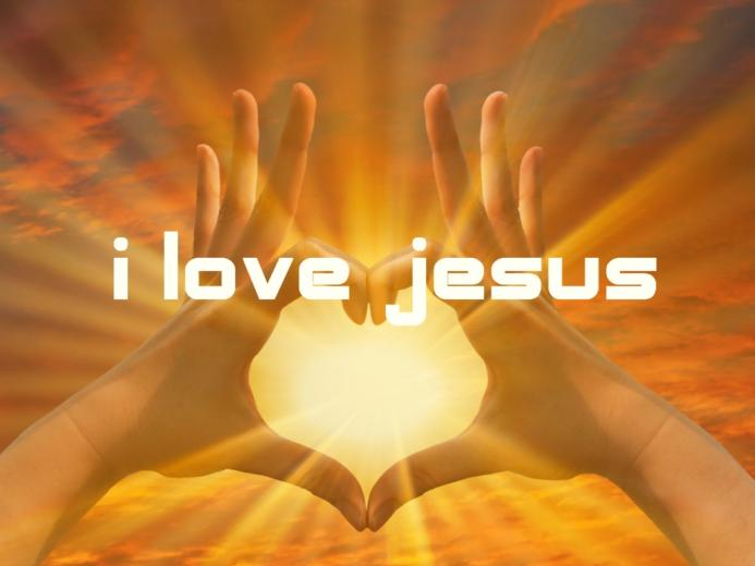 Love Jesus Wallpaper   Christian Wallpapers and Backgrounds