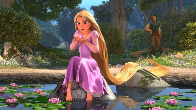 Pics Photos   Beautiful Tangled Rapunzel Wallpaper