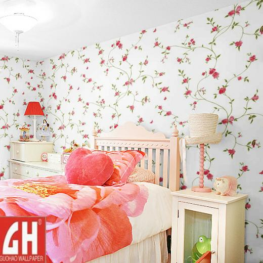 China Home Decor Wallpaper with PVC Material Photos Pictures   Made