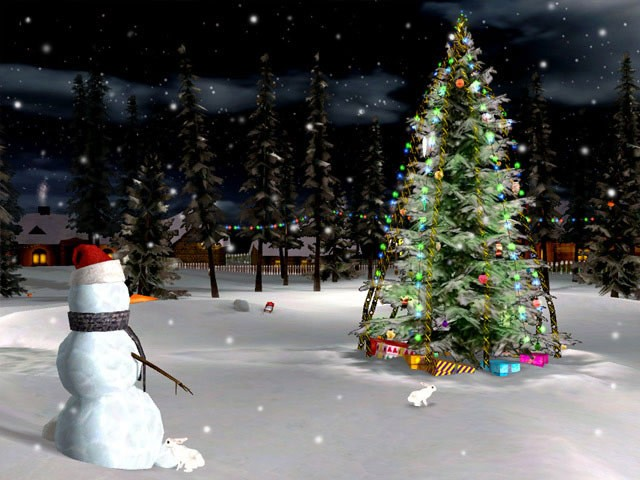 3D Christmas Eve Screensaver   Download