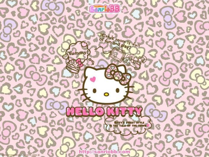 Hello Kitty Leopard iPhone Wallpapers   Top Hello Kitty