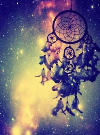 Galaxy dream catcher iPhone Wallpapers Pinterest