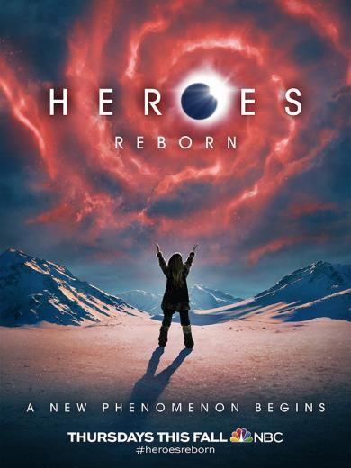 Heroes Reborn New Character Posters