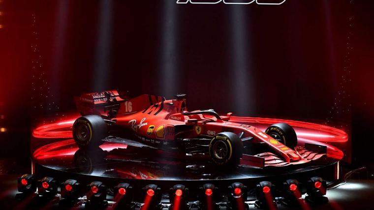 Gallery] The Ferrari SF1000 2020 Formula 1 car GRR