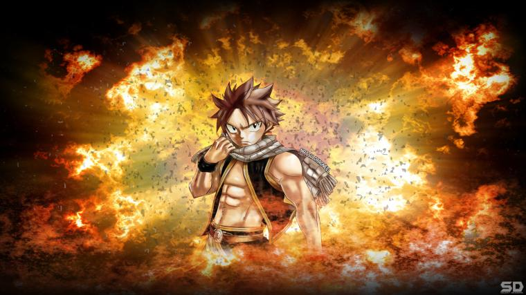 Fairy Tail Wallpaper Natsu Dragneel by Silent  Designs
