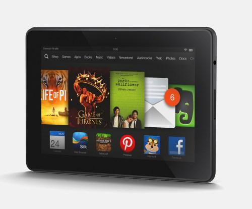 Kindle Fire HDX Landscape AngleKindle Fire Tablet Tips And Tricks
