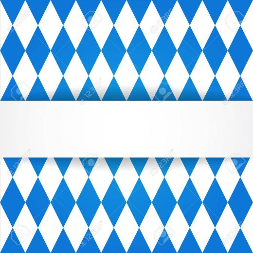 Oktoberfest Background Bavarian Flag Pattern Royalty