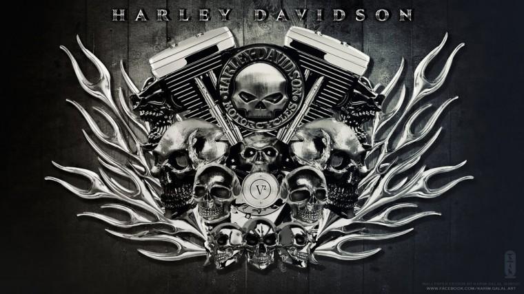 HARLEY DAVIDSON Wallpaper HD by kimoz