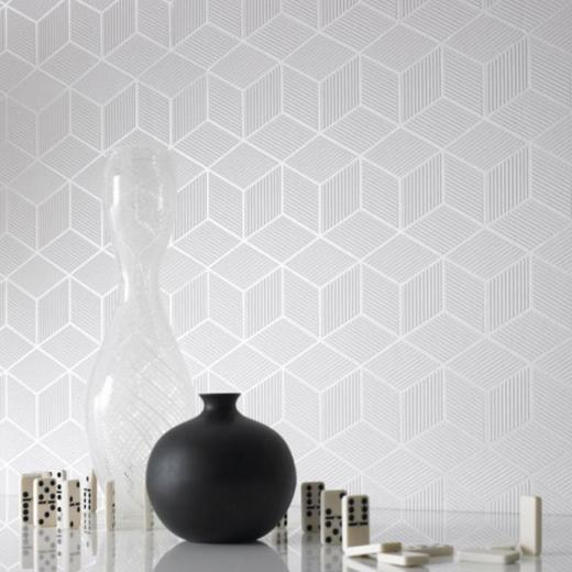 Exclusive Inspiring Black and White Wallpaper Designs with 3D Layouts