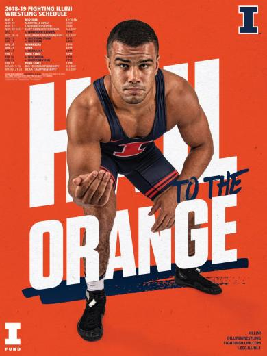 Illinois Wrestling on Twitter Poster and Wallpapers now