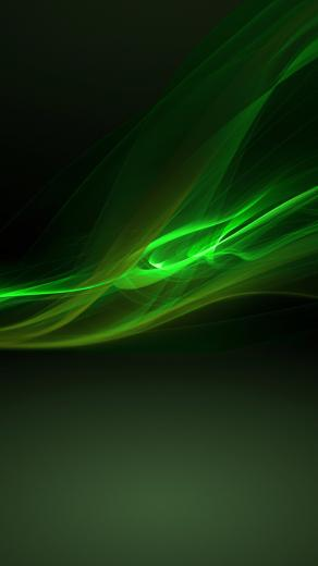 Green Cool wallpapersc SmartPhone