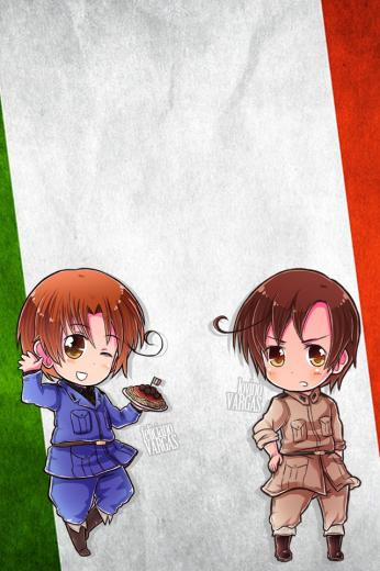 Hetalia iWallpapers   Italy and Romano by Dreamweaver38 on