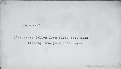 ocean eyes lyrics Tumblr