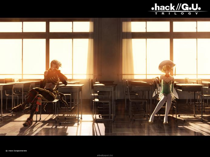 Atoli and Haseo Wallpaper   hackGU Wallpaper 37721802