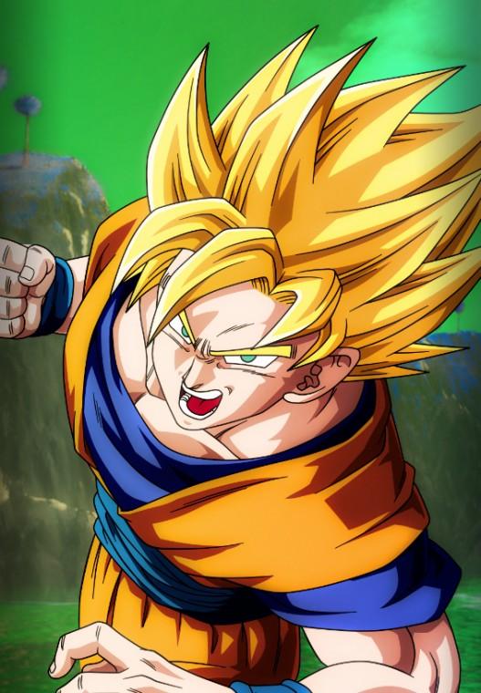 Dragonball Z Goku Mobile Device Wallpaper by Nolan989890