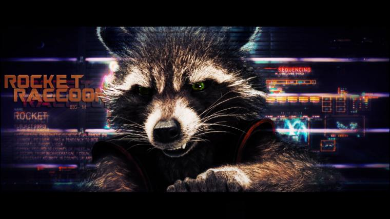 Rocket Raccoon   Guardians of the Galaxy wallpaper by BiigM on