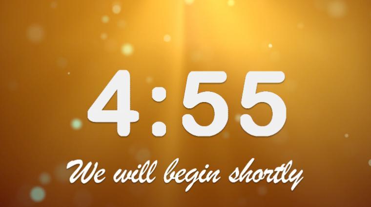 Countdown Background Golden Glow Countdown   Worship