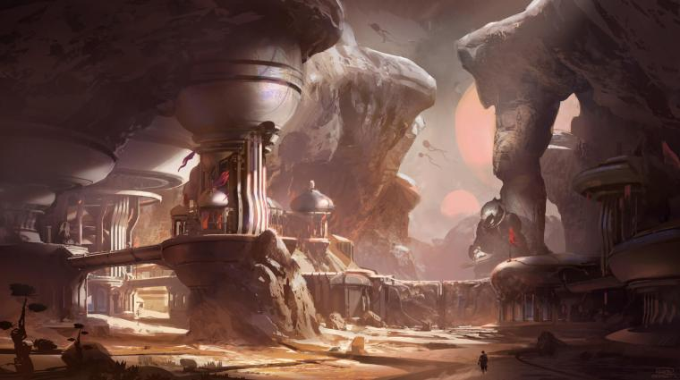 Halo 5 First Concept Art New Game Engine Details Revealed