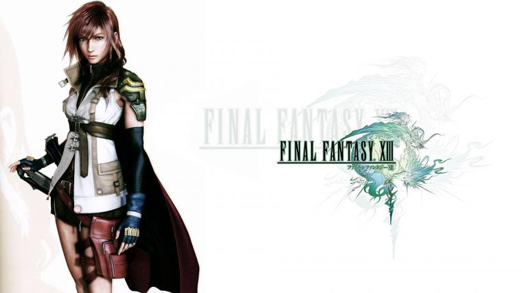 FFXIII Logo wLightning Wallpapers