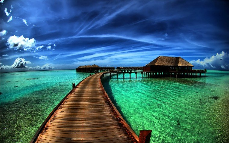 wallpaper proslut Flyover Beach Nature HD Widescreen Wallpapers for