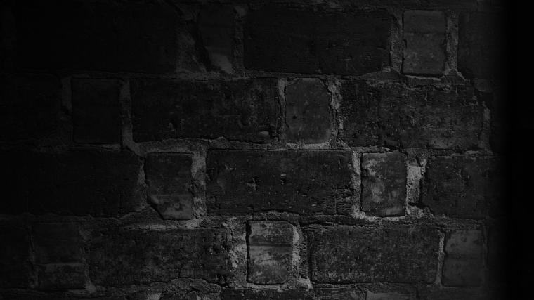 HD Background Black Wall Brick Texture Wallpaper WallpapersByte