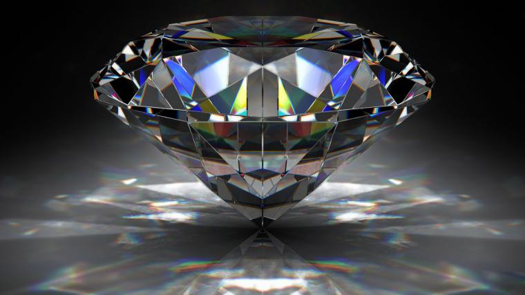 Massive diamond 3D wallpaper HD Wallpapers Rocks
