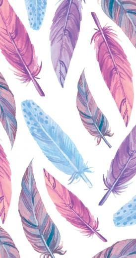 Watercolor feathers Art Print Feathers Feather wallpaper