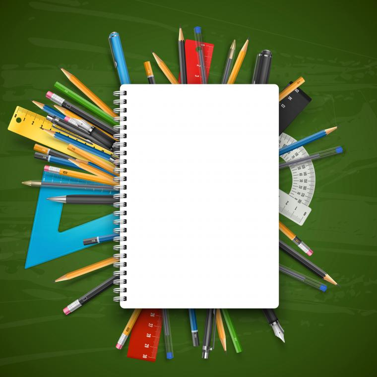 School Board and Notebook Background Gallery