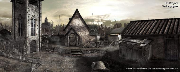 Resident Evil 4 HD Project Enhanced Menus And Flame Grenades